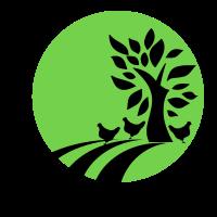 Three Chickens Strong Logo - Rose Hill Farm